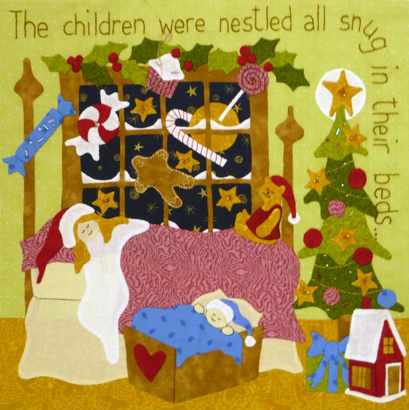 The Night Before Christmas - Month 4:  The Children Were Nestled...