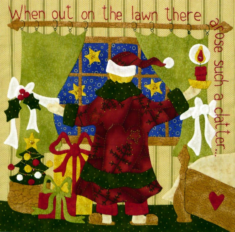 The Night Before Christmas - Month 5:  When Out on the Lawn...