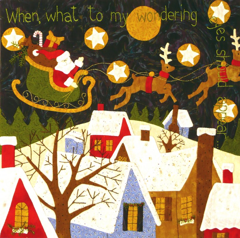 The Night Before Christmas - Month 6:  When, What to My Wondering Eyes...