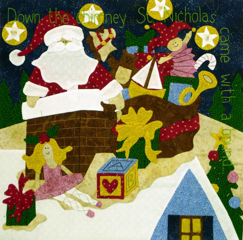 The Night Before Christmas - Month 7:  Down the Chimney...