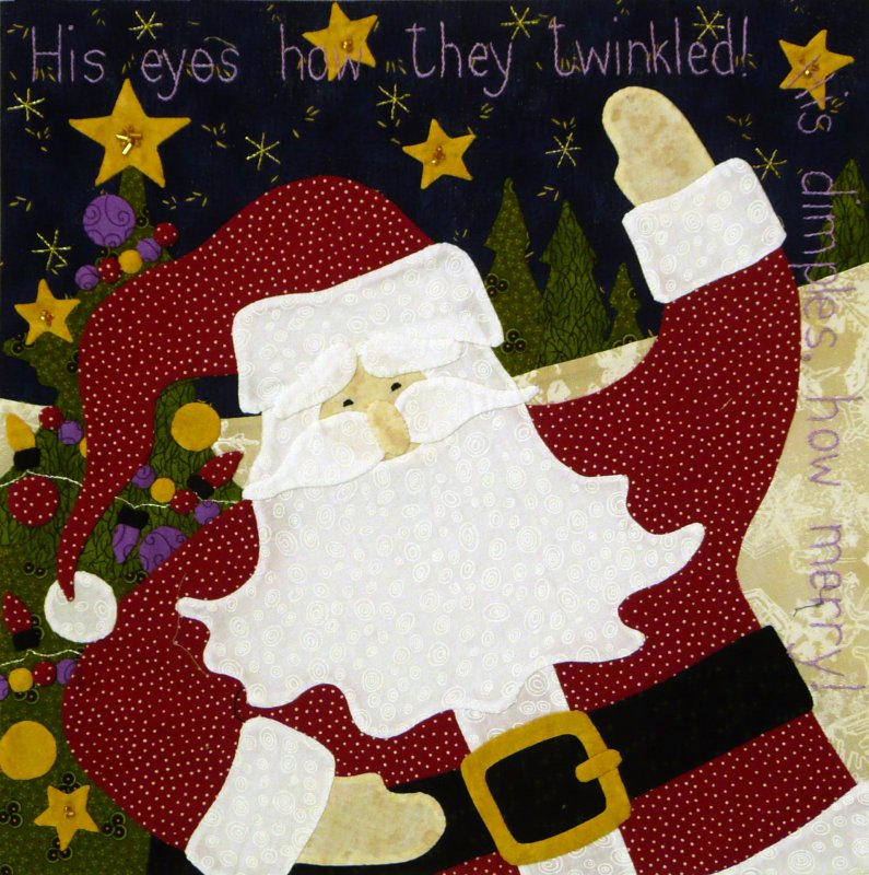 The Night Before Christmas - Month 8:  His Eyes, How They Twinkled...