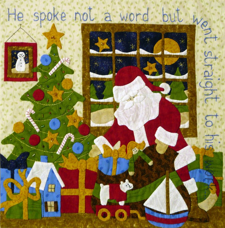 The Night Before Christmas - Month 9:  He Spoke Not a Word...