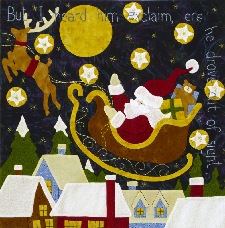 The Night Before Christmas - Month 11:  But I Heard Him Exclaim...