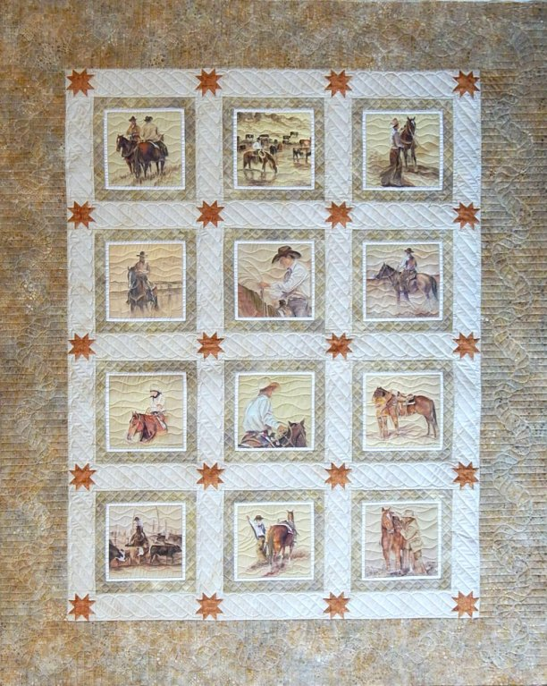 Sue Garman - The Cowboy Quilt