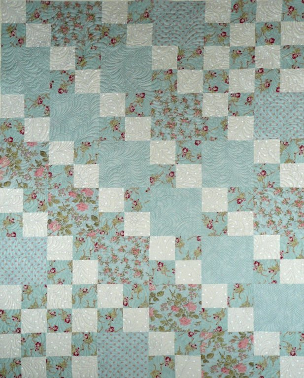 Sue Garman - Checkerboard Quilt