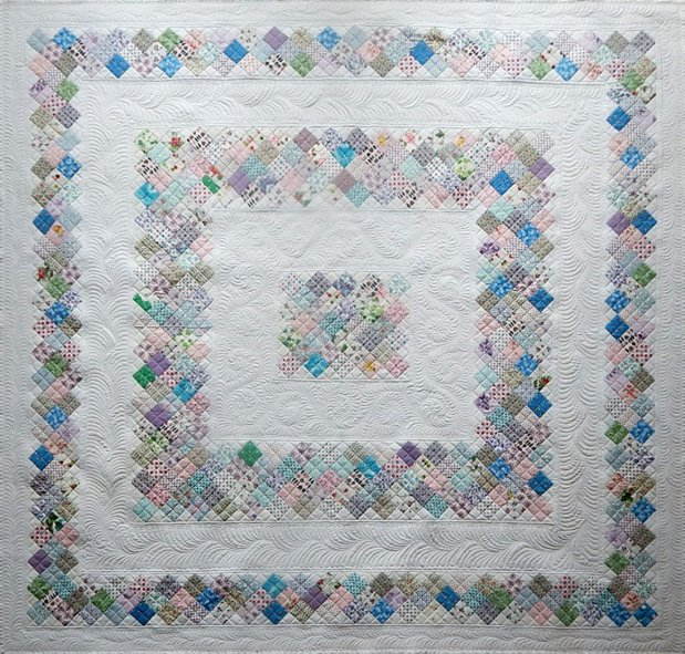Sue Garman - Antique Mosaic Quilt