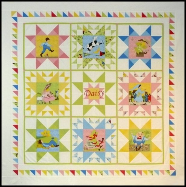 Sue Garman - Daisy's Mother Goose Quilt