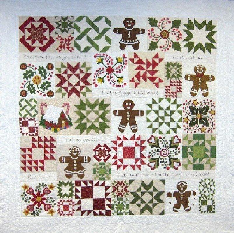 Gingerbread Joy - Complete Pattern Set