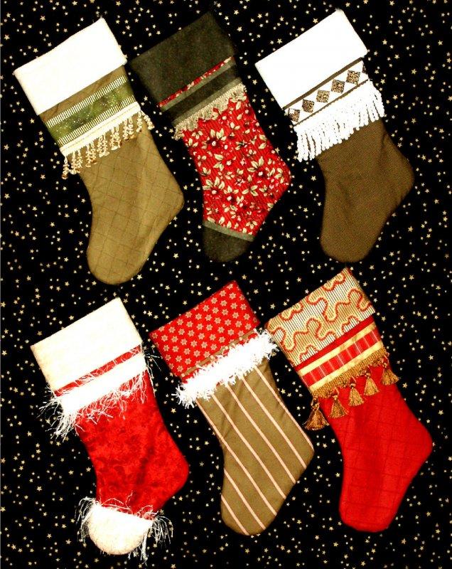 Sue Garman - Christmas Stockings