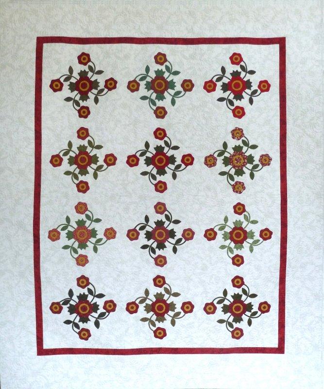 Antique Rose Quilt