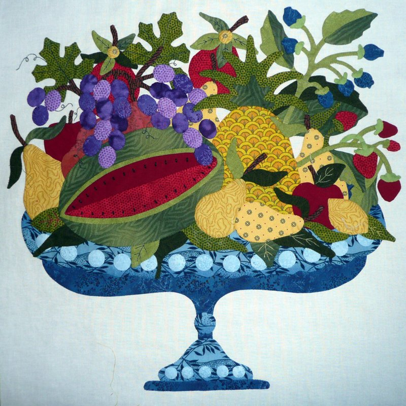 Friends of Baltimore - Month 7:  Epergne of Delights, Cornucopia of Fruit