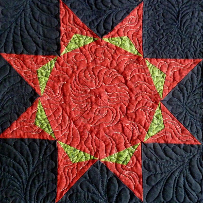 Stars:  Month 9:  The Wreath Star