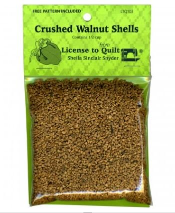 Walnut Shells (crushed, for pincushions)
