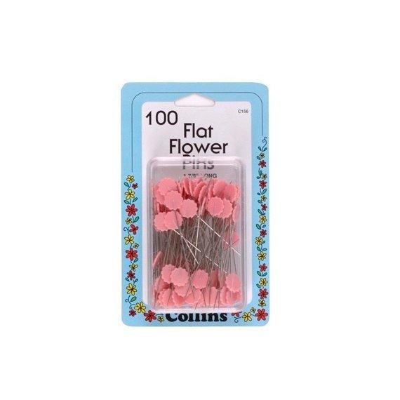 Pins:  Flat Flower Pins