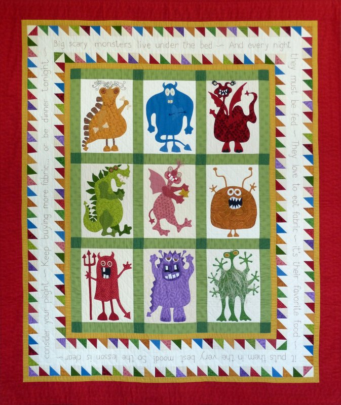 Monsters! - Complete Pattern Set