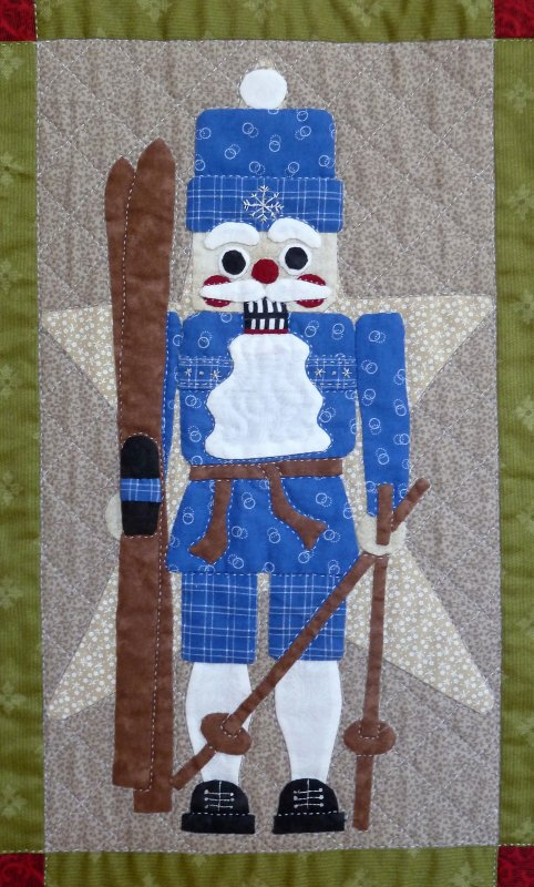 Classic Nutcrackers - Month 10:  The Skiing Nutcracker