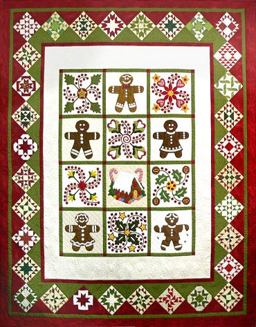 Quilted Gingerbread