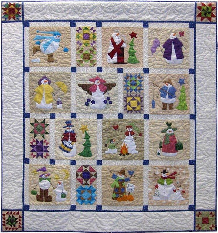 Shivery Snowman - Complete Pattern Set