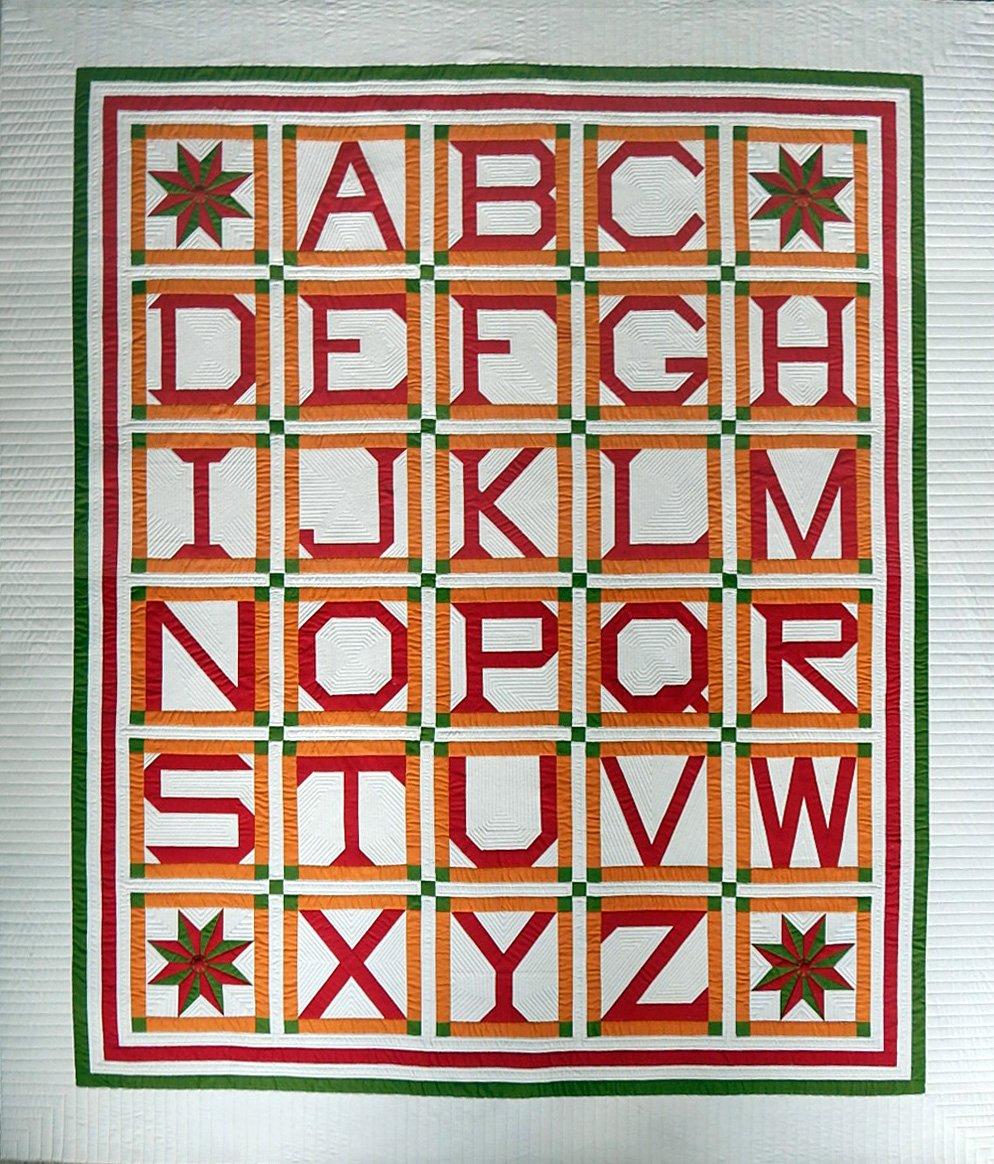 Addie's Cheddar Alphabet