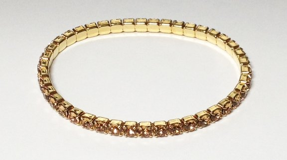 Lt ColoradoTopaz on Gold Bracelet