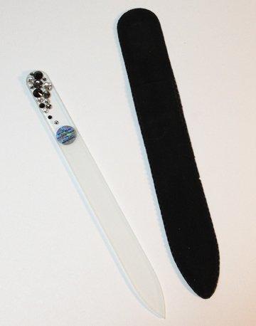 Glass Nail File-Jet Black