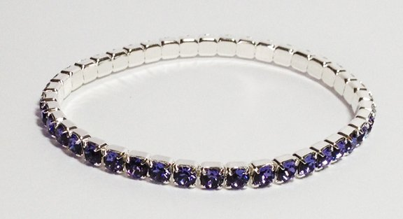 Sapphire on a Silver Bracelet