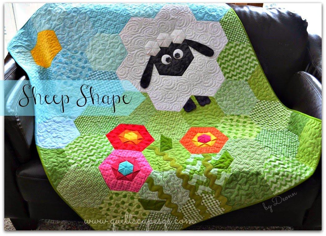 Sheep Shape By Deonn Stott