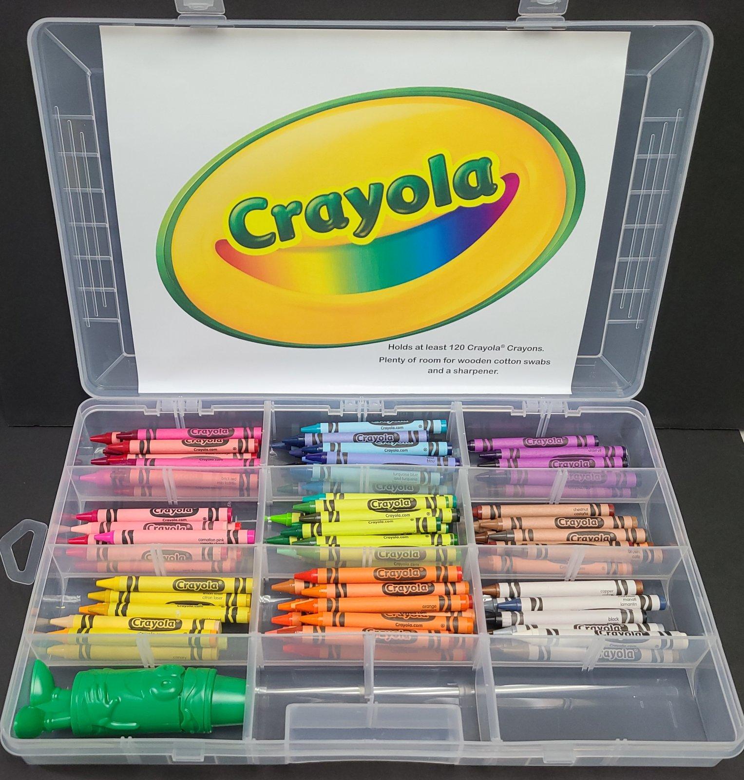 Crayon Plastic Storage