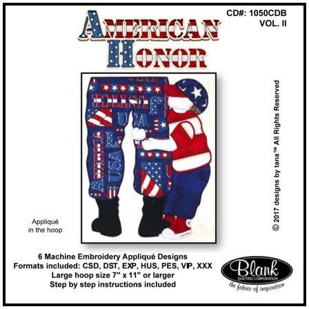 CD American Honor 1050B