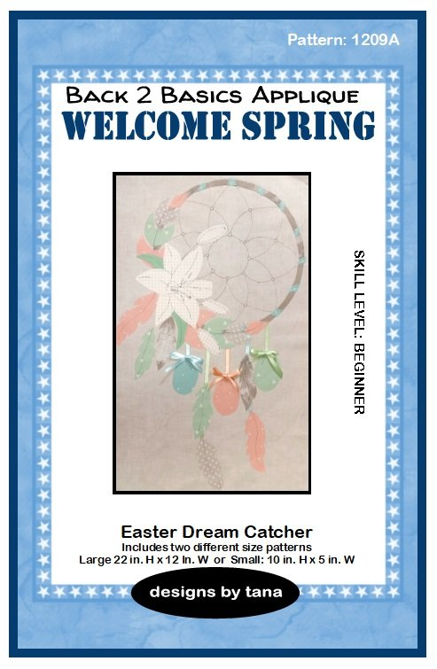 1209A  Easter Dream Catcher