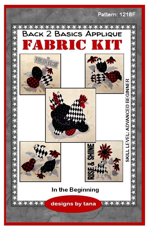 Farmhouse In the Beginning fabric kit only