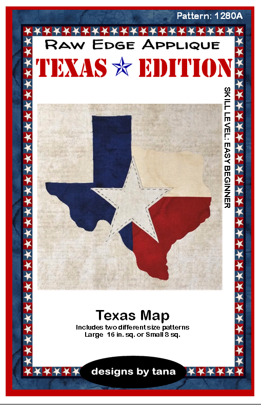 1280A Texas Edition II Texas Map