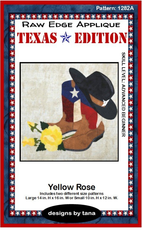 1282A Texas Edition Yellow Rose