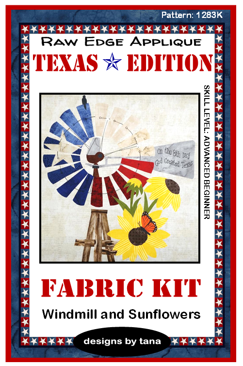 1283K Texas Edition ~ Windmill and Sunflowers