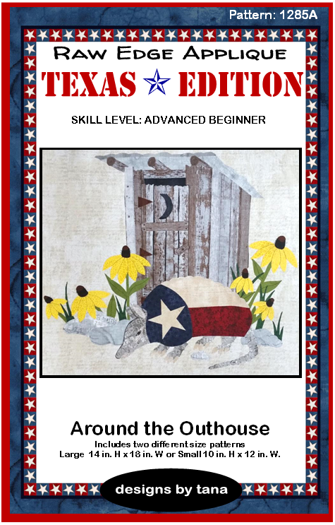 1285A Texas Edition ~ Around the Outhouse