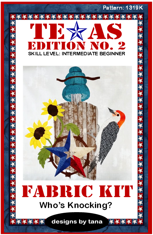 1319K Texas Edition II ~ Who's Knocking? FABRIC KIT ONLY