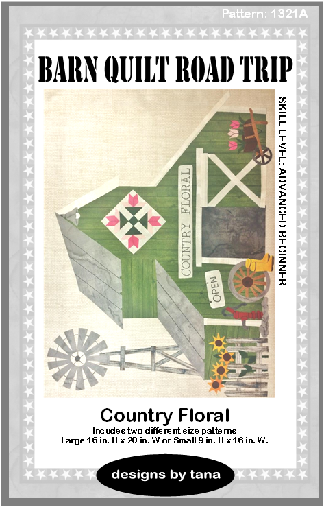 1320BOM Barn Quilt Road Trip Block of the Month