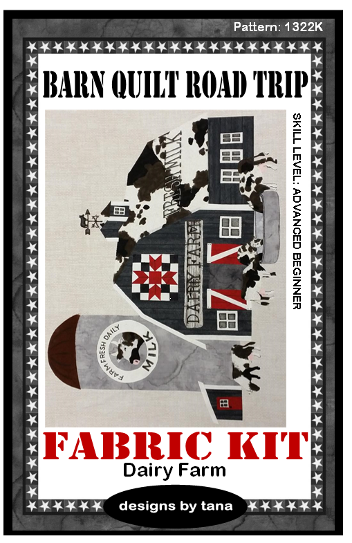 1322K Dairy Farm Fabric Kit