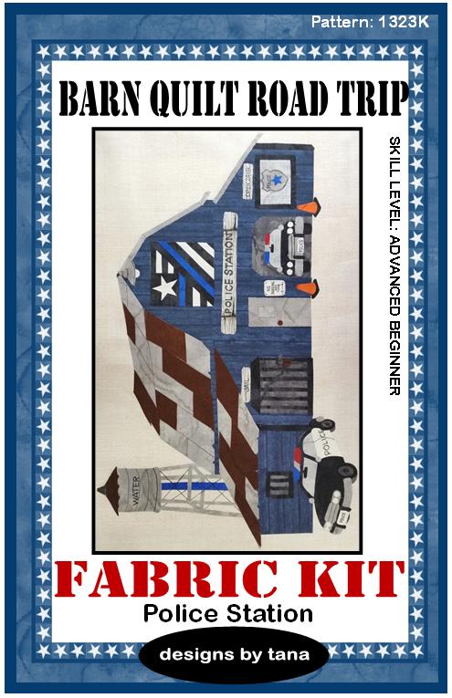 1323K Police Station Fabric Kit