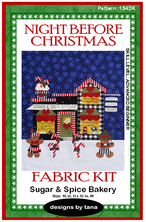 1342K Sugar and Spice Bakery Fabric Kit