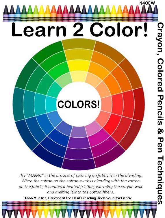 1400WDD Learn 2 Color Workbook digital download