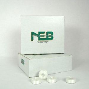 NEB Pre Wound Bobbins White