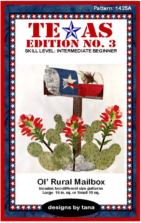1425A Texas Edition No. 3 ~ Ol' Rural Mailbox Pattern Only
