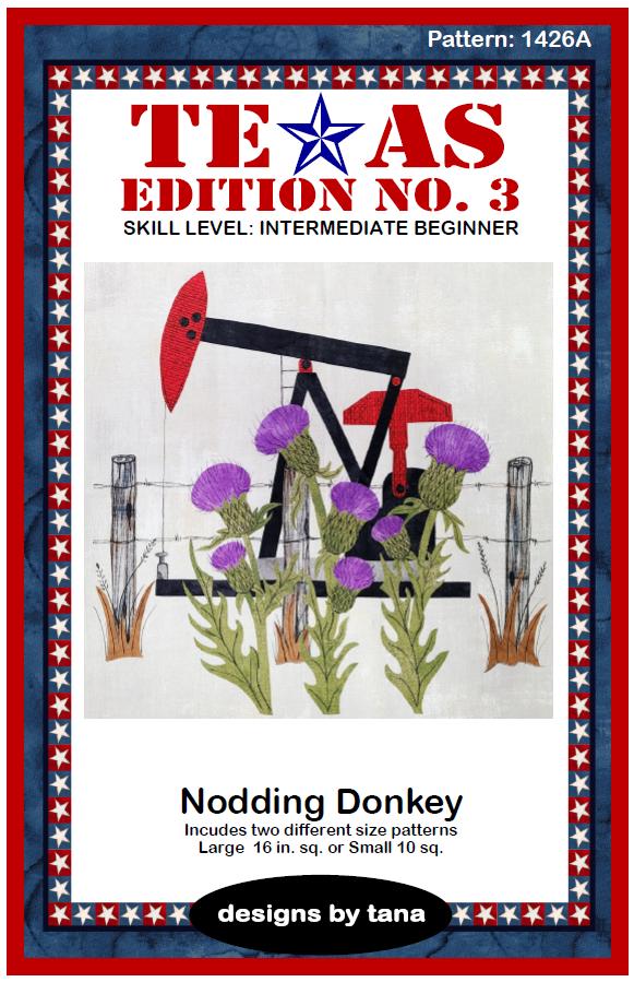 1426A Texas Edition No. 3 ~ Nodding Donkey Pattern Only