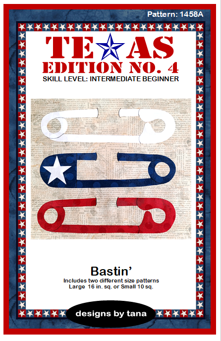 1458A Texas Edition No. 4 ~ Bastin' pattern only