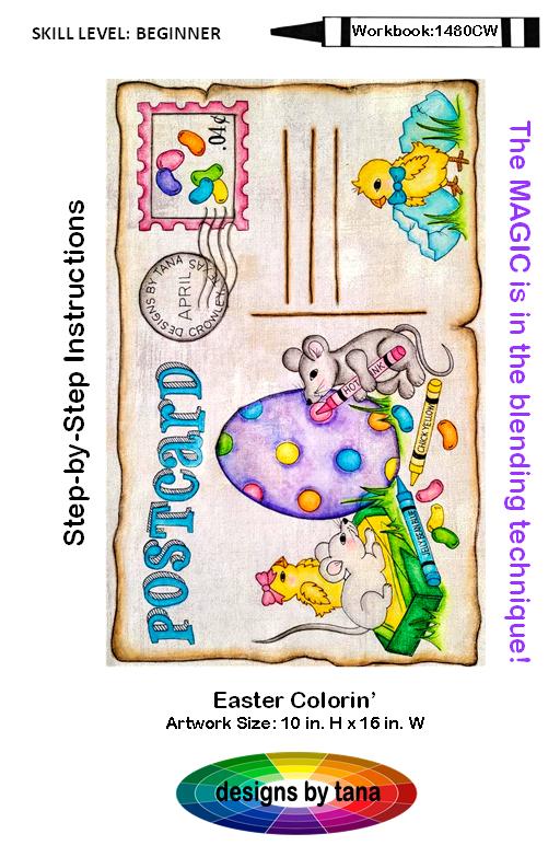1480CWDD Easter Colorin' Digital Download