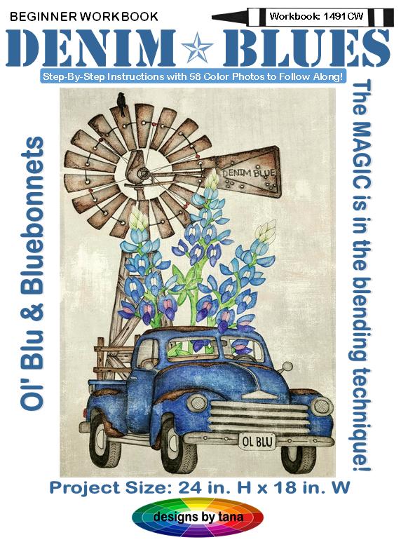 1491CW Ol' Blu & Bluebonnets Beginner Workbook