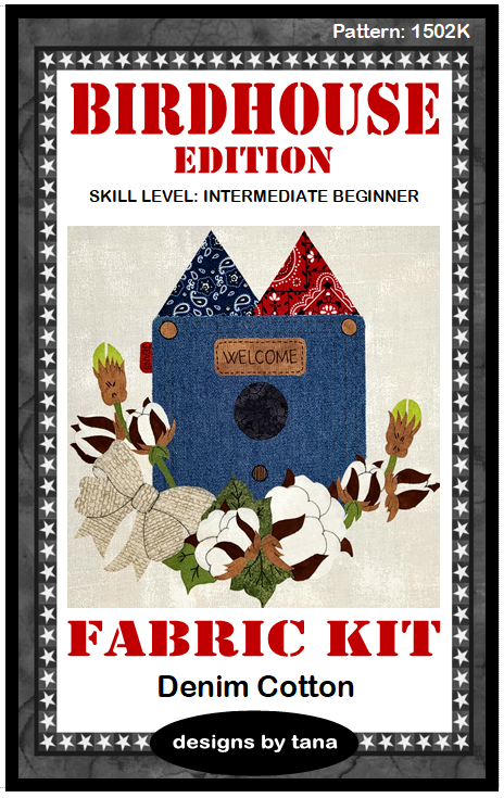 1502K Denim Cotton Fabric Kit Only