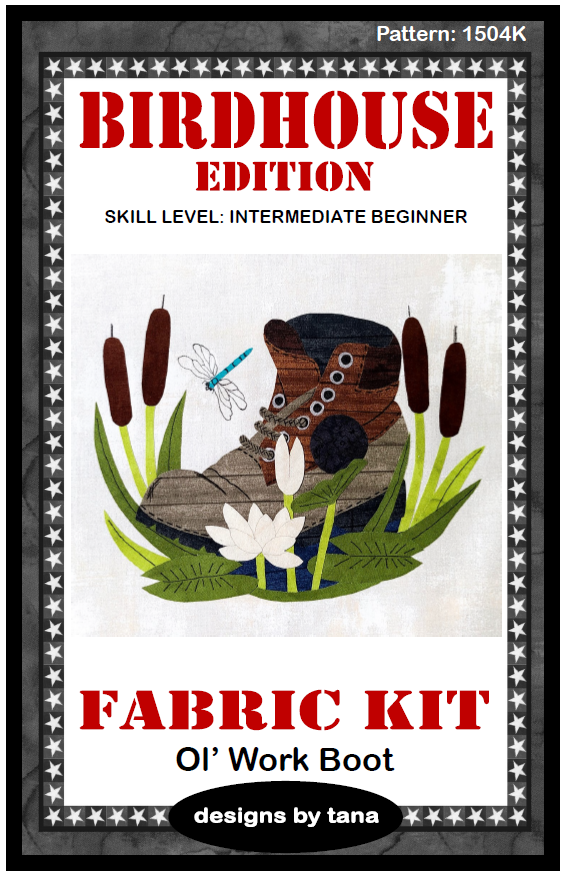 1504K Ol' Work Boot Fabric Kit Only