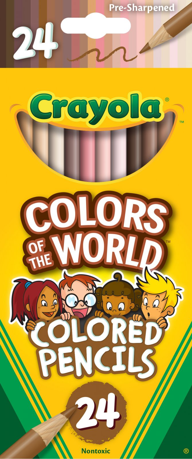 Crayola Colors of the World Colored Pencils 24 ct.